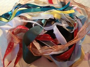 Bag of Mixed Roll end Ribbons