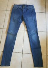 "Lee sz 7 "" licks"" stretch Mid rise Zip ankles skinny jeans"