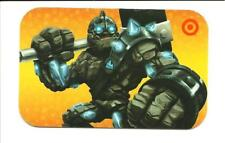 Target Skylander Granite Crusher Gift Card No $ Value Collectible 2012