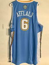 Adidas Swingman NBA Jersey Denver Nuggets Aaron Afflalo Light Blue sz XL