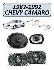 Fits Chevrolet Camaro 1982-1992 Factory Speaker Upgrade Combo Kit, KENWOOD