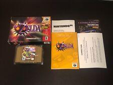 The Legend of Zelda Majora's Mask Nintendo 64 N64 Complete Excellent Authentic