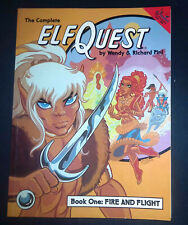 The Complete Elf Quest Book One Fire Flight Titan Books Graphic Novel OOP