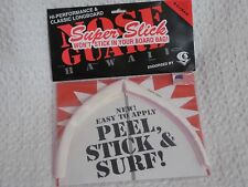 Surfco Hawaii Super Slick Longboard Nose Guard New In Retail Packaging White