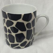 PHILIPPE DESHOULIERES LIMOGES FRANCE LODGE PANTHER ANIMAL PRINT DEMITASSE CUP