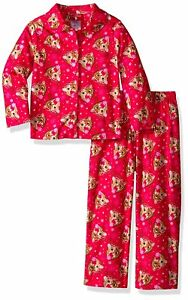 Baby Girls Rudolph The Red-Nosed Reindeer 2-Piece Pajama Coat Set Size 18M