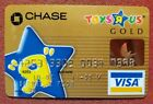 Toys R Us Chase Visa Gold charge card exp 2005◇free ship◇cc1715 NEW