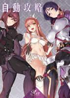 Fate Grand Order FGO Automatic capture B5/20p art book doujinshi full color