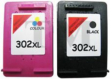 Remanufactured 302 XL Black & Colour Ink Cartridge Combo fits HP Officejet 3835