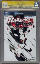 Harley Quinn #0 CGC 9.6 Original Harley Quinn Sketch by Keron Grant