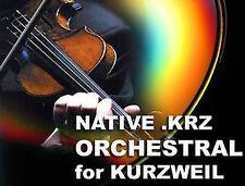 Kurzweil orchestrali Stringhe in ottone Patch SUONI CD per pc3k8 pc3k7 PC3K6 PC3k