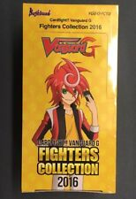 CARDFIGHT!! VANGUARD G FIGHTERS COLLECTION 2016 BOOSTER BOX SEALED VGE-G-FC03