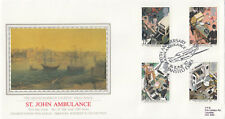 (05440) GB PPS Sothebys FDC St John Ambulance Stansted 14 June 1987
