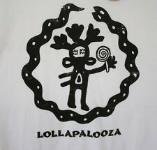 Retro 1992 Lollapalooza Deer Man Concert T-shirt New NOS Live Nation 2016 XL
