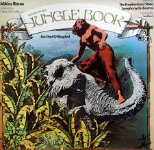 JUNGLE BOOK & THIEF OF BAGDAD - MIKLOS ROZSA  - UNITED ARTISTS - U.K. LP- 1979