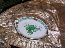 edler Aschenbecher 14,5 cm Herend Apponyi Vert Grün neu top