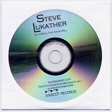 STEVE LUKATHER All's Well That... Euro 9-trk promo CD SEALED Toto