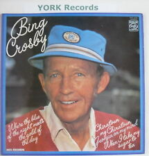 BING CROSBY - Where The Blue Of The Night ... - Ex LP