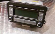 VW Golf MK5 radio reproductor de CD estéreo 1K0035186T (sin código)