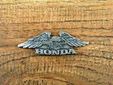 "HONDA SMALL EAGLE MOTORCYCLE VEST PIN ~2""x 3/4"" LAPEL HAT BADGE RIDER JACKET TIE"