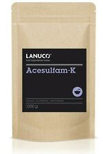 Acesulfam-K 1 kg - Süßstoff Zuckerersatz 200 x süßer als Zucker kalorienfrei veg