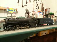 Lionel Postwar 671 PRR Turbine Loco & 2466WX Tender serviced & ready to work ! !