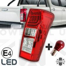 Rear LED tail Light lamp Isuzu Rodeo DMax pickup 2012> lens offside O/S Right RH
