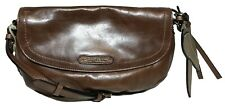 NWT Tommy Bahama Woman's Leather Cross Body, Brown Color - MSRP: $178.00