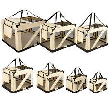Faltbare Hundetransportbox Transportbox Hundebox Katzen Hunde Auto Box S - XXXXL