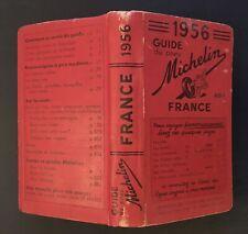 Guide Michelin France 1956