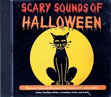 K-TEL's ORIGINAL CLASSIC SCARY SOUNDS OF HALLOWEEN: SPOOKY MUSIC & SOUNDS CD OOP