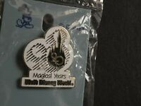 WDW - 20 Magical Years Mickey & Castle 1991 Retired Disney Pin 1046