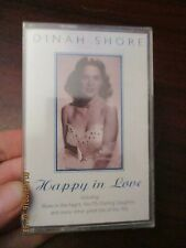 Dinah Shore Happy in Love  Audio Music Cassette Tape