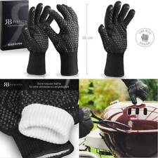 High Quality Grill Gloves (Pair) - Heat Resistant up to 500 ° C – after