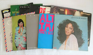 Joblot of 13 old 70s & 80s records vinyl albums Used condition, Pop & Party.