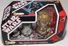 STAR WARS HOT TOYS CHUBBY C-3PO NESTING DOLLS SERIES 1 2007 NEW IN BOX