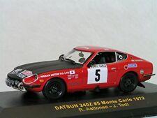 DATSUN 240 Z #5 RALLYE MONTE CARLO 1972 IXO RAC039 1/43 JEAN TODT AALTONEN