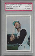 Roberto Clemente 1978 TCMA ML Baseball Card Graded 9 PSA