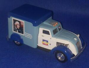 Matchbox 1937 Dodge Airflow Platinum Edition Postal Mail Truck 1/43 Die-Cast