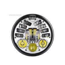 """5.75"""" LED Projector Headlight For Harley 2000-later FXCW/C FXS FXSB FXSBSE FXST"""