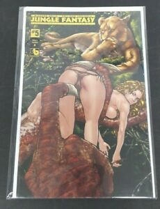 Jungle Fantasy: Ivory #5 Nude & Naughty A Cover Boundless July 2019