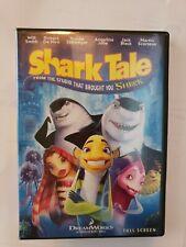 Shark Tale (DVD, 2005, Full Frame)