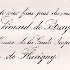Louis De Simard De Pitray 1866 Marguerite De Flavigny