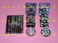 Ps2 _ Enter the Matrix & Enter the Matrix Path of Neo & oficial solución libro