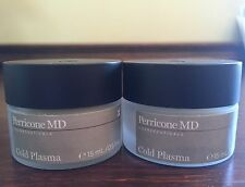 Perricone MD Cold Plasma Face Cream Travel Sz Set Of 2! 0.5x2= 1 Oz Brand New!