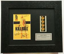 More details for kill bill cast signed reproduction limited edition original filmcell memorabilia