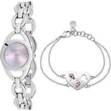 Orologio + Bracciale Donna MORELLATO INCONTRO R0153149501 Acciaio Lilla NEW