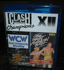 Clash of the Champions XII 12 Great American Bash 1991 Blu-ray Wrestling WCW NWA
