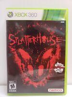 Splatterhouse (Microsoft Xbox 360, 2010) Complete W/ Manual FREE SHIPP