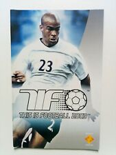 This Is Football 2003 Instruction Manual Only Sony PS2